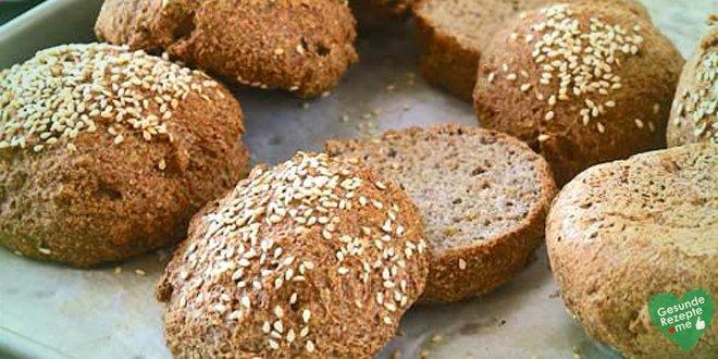Low carb Brot mit Sesamsaat