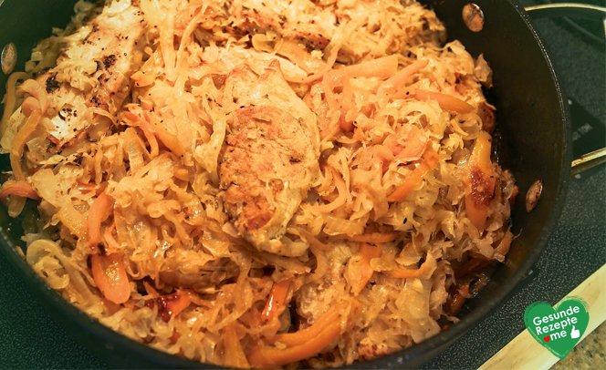 Pute-Sauerkraut