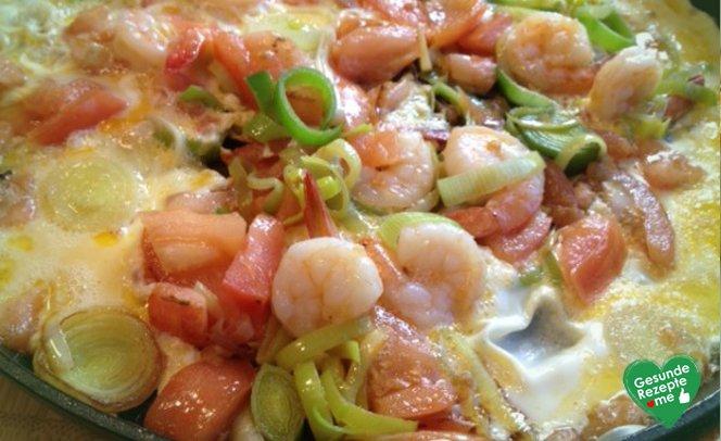 Omelett Meeresblick