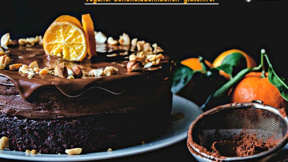 Veganer Schokoladenkuchen (glutenfrei)