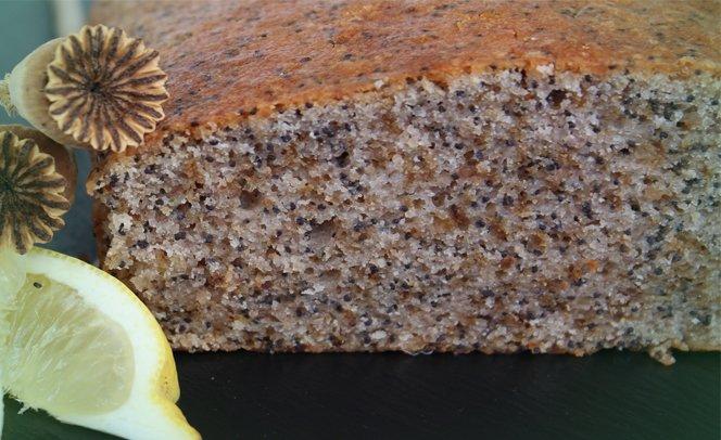 veganer mohn-zitronen-kuchen