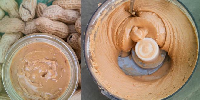 Erdnussbutter und Mandelmus, Low Carb Rezept