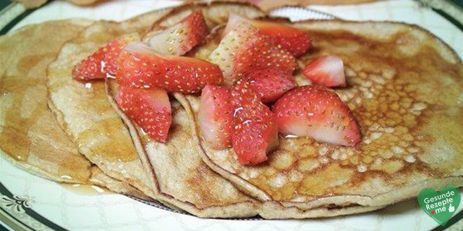 Kalorienarme pancakes einfach