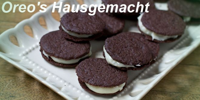 low carb double stuffed Oreos Hausgemacht
