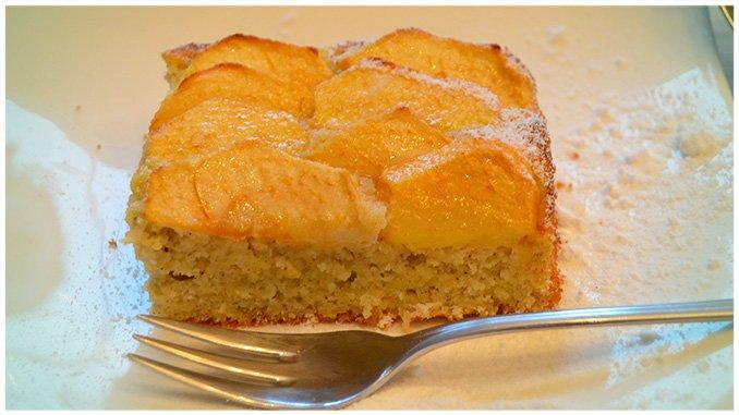 Schneller Apfelrührkuchen