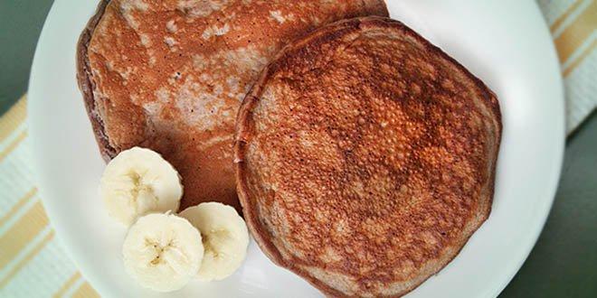 Kalorienarme Protein-Nutella-Pancakes