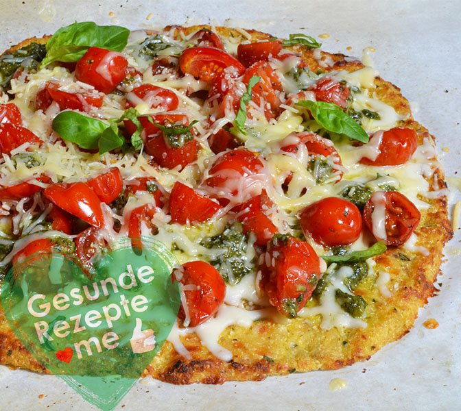 Blumenkohl-Krusten Pizza